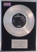 "The Fourmost - 7"" Platinum Disc - I'm in Love"
